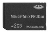 Карта памяти Memory Stick Pro Duo 2GB Silicon Power