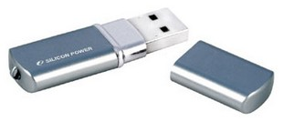 USB Flash 4GB S.Power  LUX mini 720 Blue