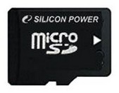 Карта памяти Micro SD 2GB Silicon Power (SP002GBSDT000V10-SP)